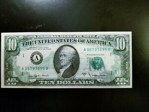 1977 $10 PERFECT ERROR BILL!!!
