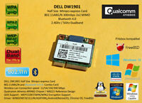 DELL DW1901 Atheros AR9462 minipci-express 802.11A/B/G/N 300Mbps Bluetooth