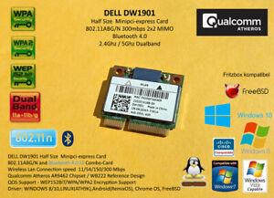DELL DW1901 Atheros AR9462 minipci-express 802.11A/B/G/N 300Mbps Bluetooth 0K2GW