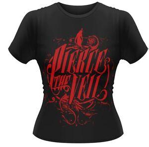 Pierce The Veil 'Selfish Machine Logo' Ladies T Shirt  *SALE £7.95 + FREE P+P