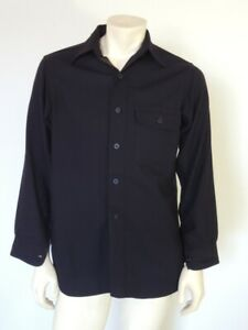 Vintage WWII 1st Model Wool US NAVY CPO Shirt Size 40