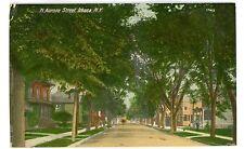 Ithaca NY - NORTH AURORA STREET - Postcard