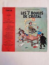 Tintin/Hergé - Disque 33 T - Les 7 boules de cristal