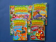 ## MOSHI MONSTERS MAGAZINE & 3 x PICK YOUR PATH #1, #2 & #3 **Free Aust. Postage