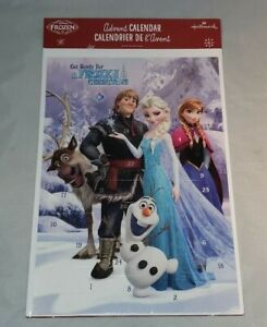 "Disney Frozen Christmas Advent Calendar ""Get Ready for a Frozen Christmas"""