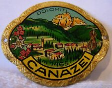 Canazei used badge mount stocknagel hiking medallion G5527a