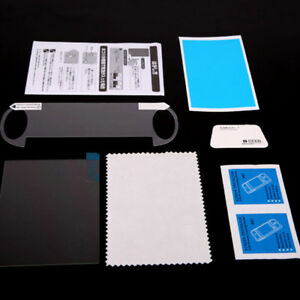 Tempered glass film screen protector set for playstation ps vita psv 1000 JC QC