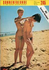 📚 Heft Magazin - Sonnenfreunde Nr 245 - Akt FKK Vintage Nudism Retro Nude *RAR