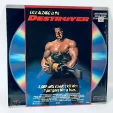 The Destroyer - Laserdisc Lyle Alzado Anthony Perkins Virgin Rare Horror Shrink