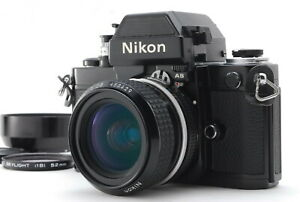 MINT/ Nikon F2 Photomic AS Black + Ai 28mm F2.8 NIKKOR from Japan #1404