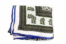 """Jaipuri Indian Quilt Razai Kantha Work 55x79"""" Winter Color Multi 100% Cotton"""