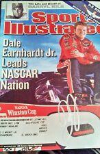 Dale Earnhardt Jr autograph signed Sports Illustrated Signed Budweiser