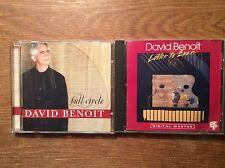 David Benoit [2 CD Alben] Letter to Evan +  Full Circle
