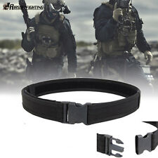 "1.5"" Survival Airsoft Tactical Belt Emergency Load Bearing Cambat Duty Web Belt"