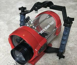 Vtg Ikelite Marine Video Case Underwater Housing for Unknown Sony Handycam CCD