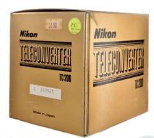 Nikon TC200 AI 2X teleconverter lens for Nikon AI F series SLR cameras Mint box