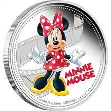 Disney Mickey & Friends – Minnie Mouse 2014 1oz Silver Proof Coin