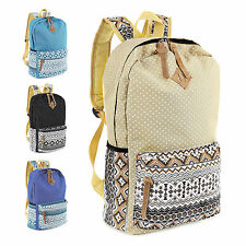 Unbranded Canvas Backpack Bags for Girls