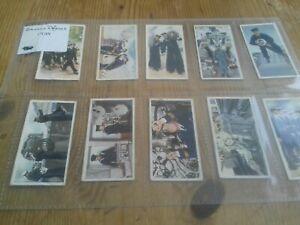 Carreras Cigarette Cards - Britain's Defences - 30 Cards