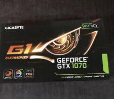 Gigabyte GeForce GTX 1070 G1 Gaming 8GB Graphics Card
