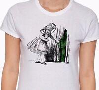 Alice in Wonderland t-shirt Matrix t-shirt  Alice in Wonderland t shirt