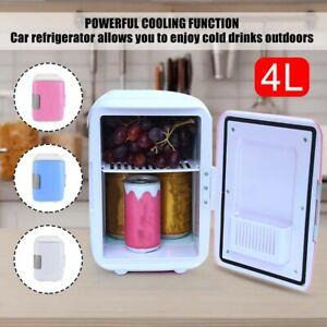 4L Mini Car Refrigerator Portable Freezer Warmer Cooler Camping Fridge Travel
