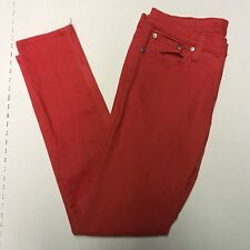 Rue 21 Women's Junior Size 7/8 Curvy Stretch Red Jeans