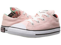 Converse Kids Chuck Taylor All Star Madison Ox Vapor Pink White Black Sneaker