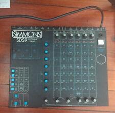 Simmons sds9 Rare Drum Machine - sds-9 sds 9 - PERFECT CONDITION