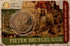 Belgien 2 Euro Gedenkmünze in Coincard 2019 Pieter Bruegel