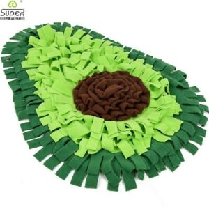 Dog Snuffle Mat Dog Puzzle Toy Pet Snack Feeding Mat For Dogs