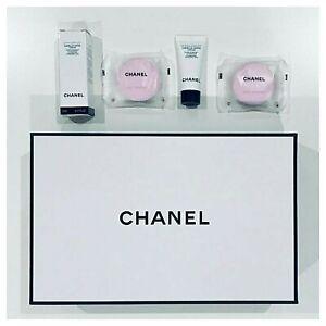 100% Genuine CHANEL Set 2 X CHANCE Eau Tendre Scented Bath Tablet + Hydra Cream
