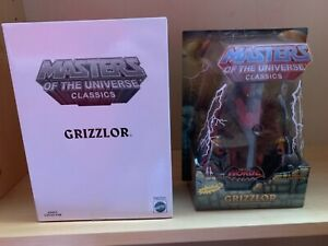 Masters of the universe classics grizzlor new & sealed motu motuc