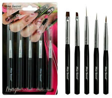 Mia Secret 5 Pcs Professional Magic Nail Art Design Brush Set (NB-5P)