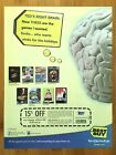 2003 BEST BUY PC Video Games Print Ad/Poster Art Christmas Coupon Advertisement