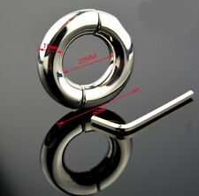 28mm Stainless Steel Ball Stretcher Man Enhancer Ring Chastity Ring Delay Time