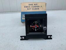 """Ford C8AZ-15A000-A  1968 Galaxie XL 500 Dash Clock """"NOS"""""""