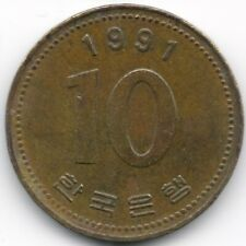 South Korea : 10 Won 1991