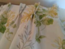 Laura Ashley curtains honeysuckle trail made to measure.