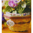 Longaberger Collector Club May Series LINER ONLY Mini Morning Glory Basket - NEW