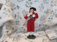 Byers Choice Caroler 2006 Child Dressed in Red with Toy 60/100 Retired