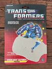 Transformers Fizzle G1 1987 Sparkabot Card Back Only