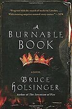 Burnable Book Paperback Bruce Holsinger