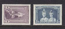Australia Scott # 178-179 Vf Og lightly hinged nice color cv $ 105 ! see pic !