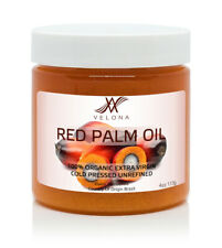 Red Palm Oil 4 oz 100% Natural Extra Virgin Cold Pressed Unrefined in jar