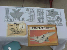 USAF F- 15 Eagle Model Airplane  young model Builders Club  1/72 scale