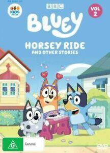 BLUEY VOLUME 2: HORSEY RIDE DVD Region 4 NEW & SEALED in Aus!