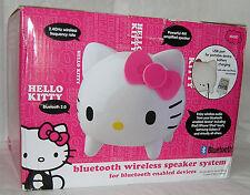 HELLO KITTY Sanrio Bluetooth Wireless Speaker System 2.4GHz 4W Speakers NIB