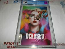 DCEASED: DEAD PLANET #7 CGC 9.8 (BEN OLIVER HARLEY QUINN COVER)