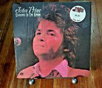 John Prine - Diamonds In The Rough (Vinyl LP 1972 Atlantic SD 7240 PR) SHRINK!